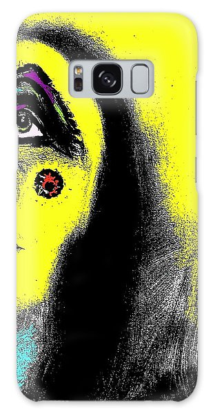 Native Immortal Woman  Galaxy Case by Ayasha Loya