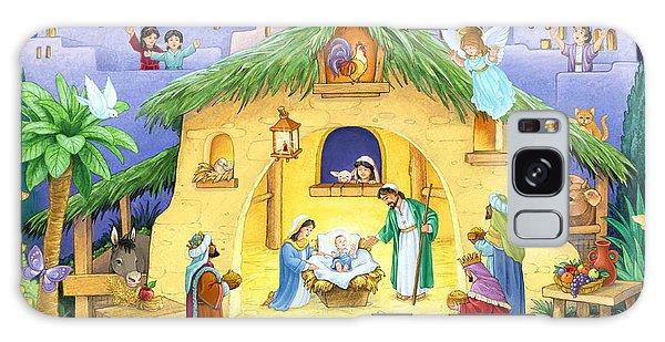 Nativity For Children Galaxy Case