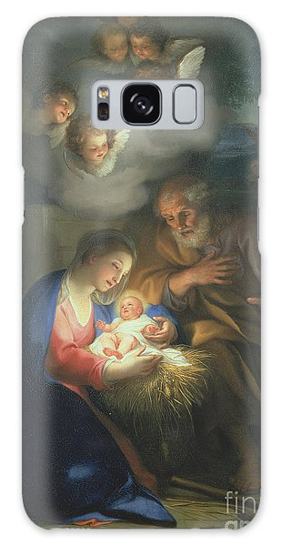 New Testament Galaxy Case - Nativity Scene by Anton Raphael Mengs