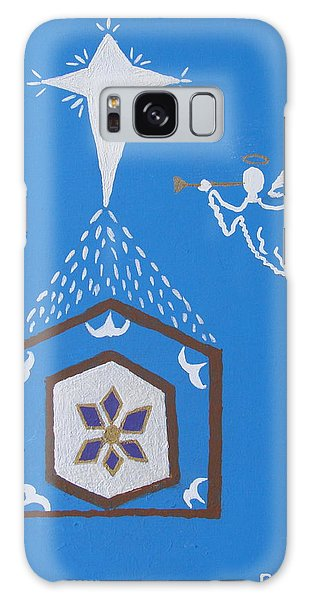 Nativity Scene Galaxy Case