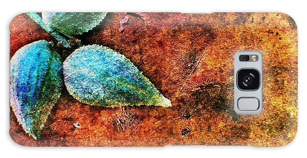 Nature Abstract 17 Galaxy Case by Maria Huntley