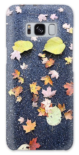 Nature Meets The Pavement Galaxy Case by Mary Haber