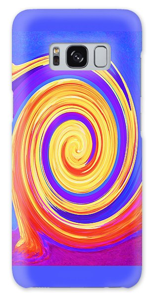 Nature Twirling Galaxy Case by Margaret Saheed