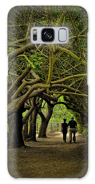 Nature Walk Galaxy Case by Joseph Hollingsworth