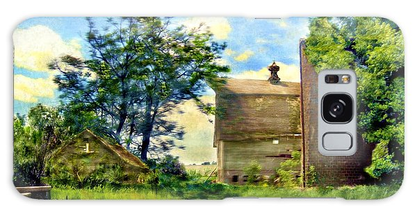 Nature's Farm Reclamation Project Galaxy Case by Ric Darrell