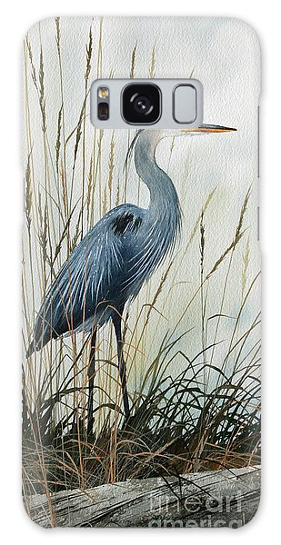 Herons Galaxy Case - Natures Gentle Stillness by James Williamson