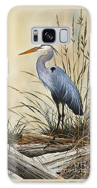 Herons Galaxy Case - Natures Grace by James Williamson
