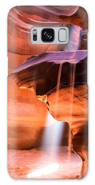 Galaxy Case featuring the photograph Nature's Hourglass by Brad Brizek