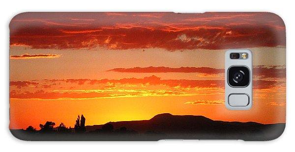 Natures Orange Paint Galaxy Case