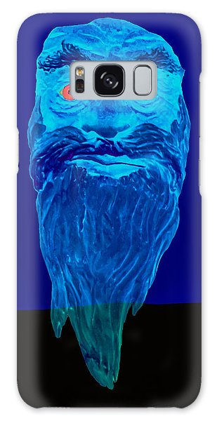 Naughty Blue Ghost Galaxy Case