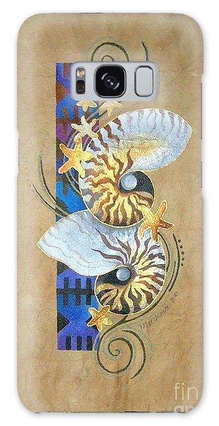 Nautilus And Blue Masi Galaxy Case
