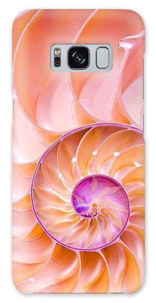 Nautilus Shell Detail Galaxy Case