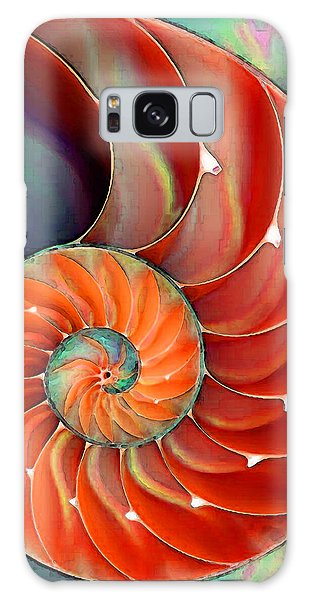 Largemouth Bass Galaxy S8 Case - Nautilus Shell - Nature's Perfection by Sharon Cummings