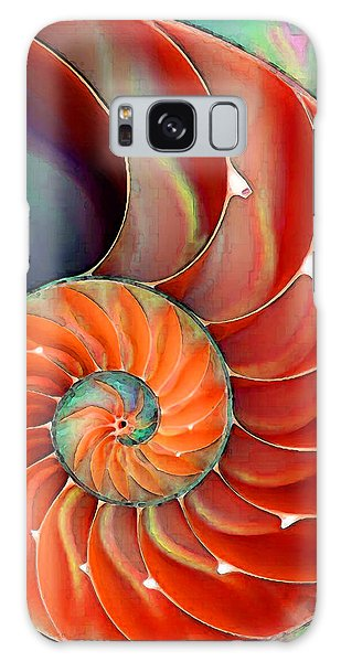 Fractal Galaxy Case - Nautilus Shell - Nature's Perfection by Sharon Cummings