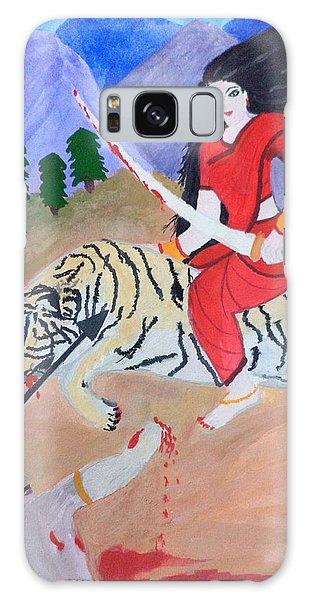 Nava Durga Kaatyayani Galaxy Case