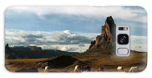Navajo Horses At El Capitan Galaxy Case