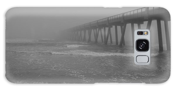 Navarre Pier Disappears In The Bw Fog Galaxy Case
