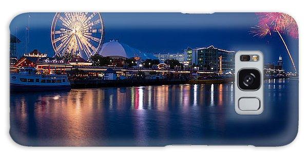 Fireworks Galaxy Case - Navy Pier Fireworks Chicago I L by Steve Gadomski