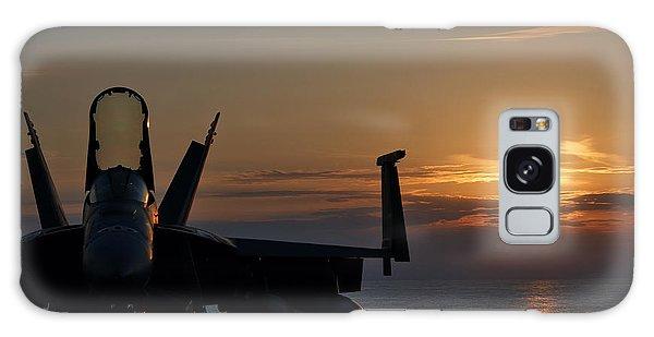 Navy Super Hornet Galaxy Case by John Swartz