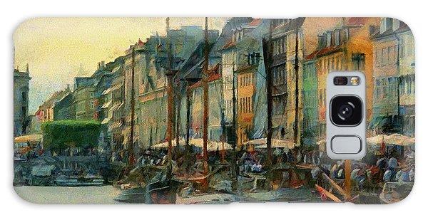 Nayhavn Street Galaxy Case by Jeff Kolker