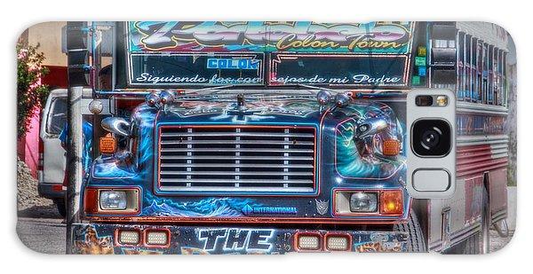 Neat Panamanian Graffiti Bus  Galaxy Case
