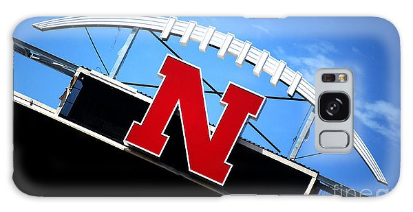 Nebraska Husker Memorial Stadium Galaxy Case