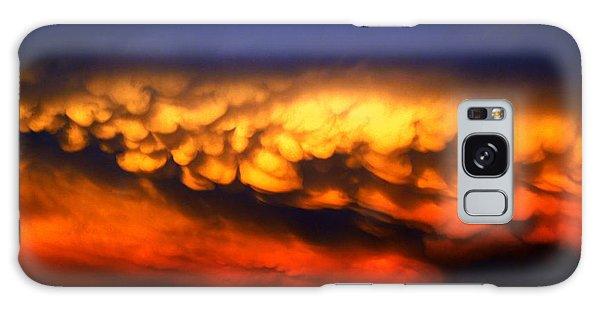 Galaxy Case - Nebraska Mammatus Sunset by NebraskaSC