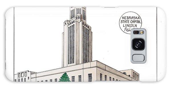 Nebraska State Capitol Galaxy Case