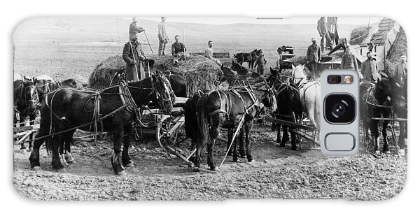 Nebraska Threshing, 1886 Galaxy Case by Granger