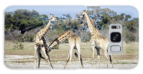 Necking Giraffes Botswana Galaxy Case