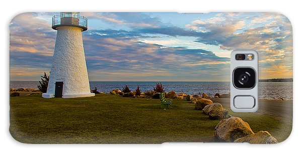 Neds Point Lighthouse Galaxy Case