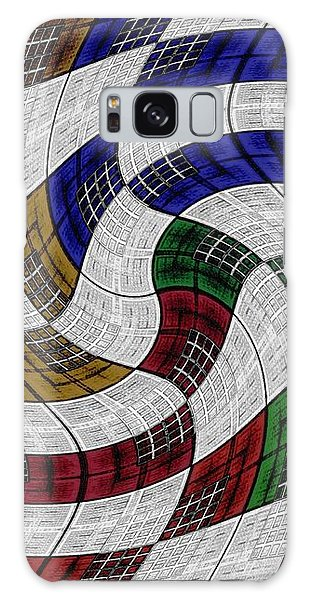 Neighborhood News Galaxy Case by Darla Wood