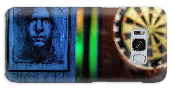 Neil And The Dartboard Galaxy Case by Raymond Kunst