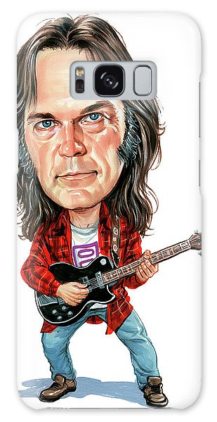 Neil Young Galaxy S8 Case - Neil Young by Art