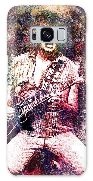 Neil Young Original Painting Print Galaxy Case