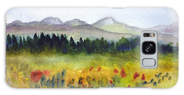 Nek Mountains And Meadows Galaxy Case by Donna Walsh