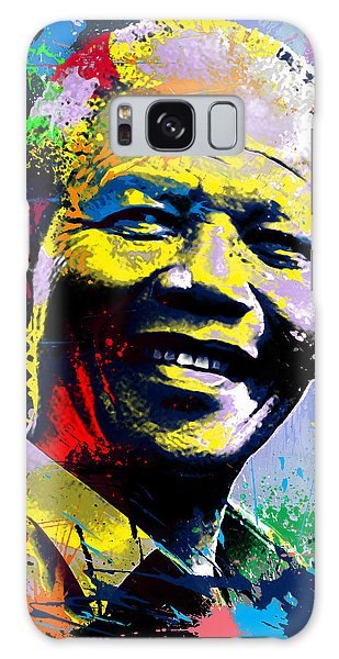 Nelson Mandela Madiba Galaxy Case by Anthony Mwangi