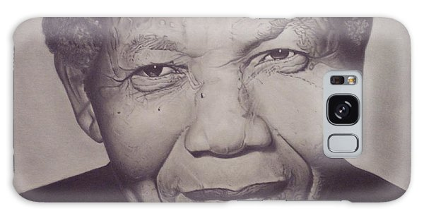 Nelson Mandela Galaxy Case by Wil Golden