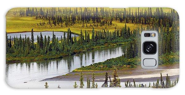 Denali Galaxy Case - Nenana River In Autumn, Denali Highway by Michel Hersen