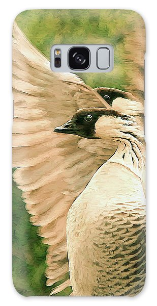 Nene Goose Galaxy Case