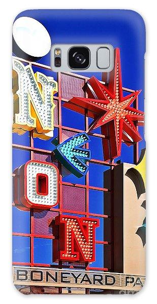 Vegas Neon Boneyard Galaxy Case
