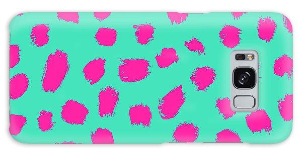Wrap Galaxy Case - Neon Brush Seamless Pattern Background by Faitotoro