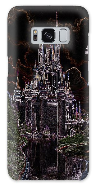 Neon Castle Galaxy Case