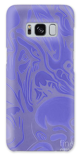 Neon Intensity Galaxy Case