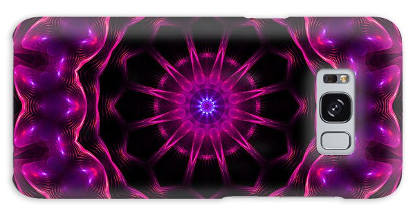 Neon Magic Galaxy Case