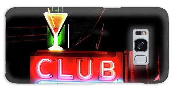 Neon Sign Club Galaxy Case