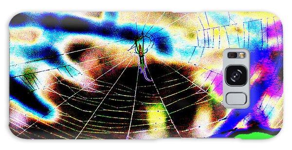 Neon Spider Galaxy Case