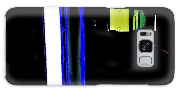 Neon Subway Tunnel Galaxy Case