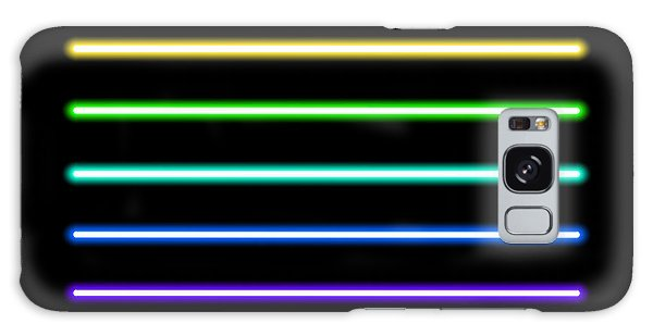Glow Galaxy Case - Neon Tube Light Pack Isolated On Black by Boxerx