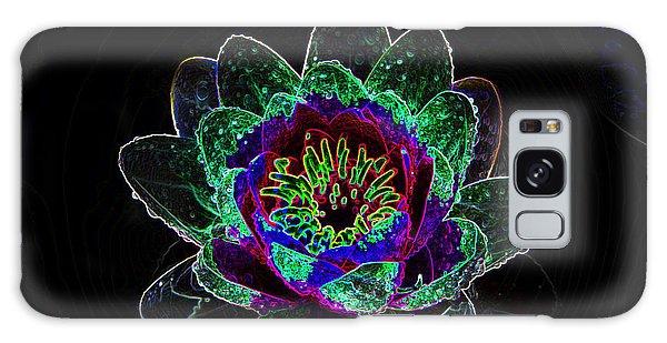 Neonflower Galaxy Case
